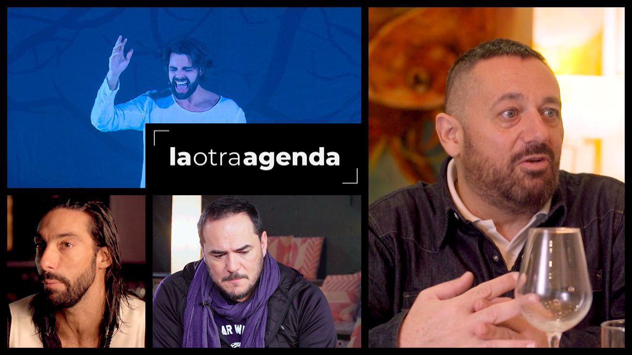 La Otra Agenda: Ismael Serrano, Pepón Nieto, Eduardo Guerrero y Antonio Casado