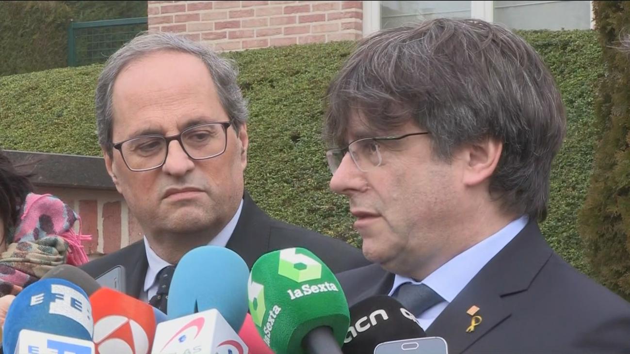 Puigdemont dice que el apoyo a los Presupuestos dependerá de los diputados de ERC y PdeCat en Madrid