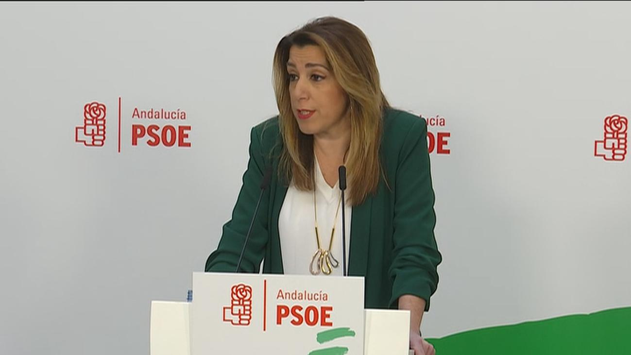 """Susana Díaz quiere repetir como candidata para """"recuperar"""" Andalucía"""