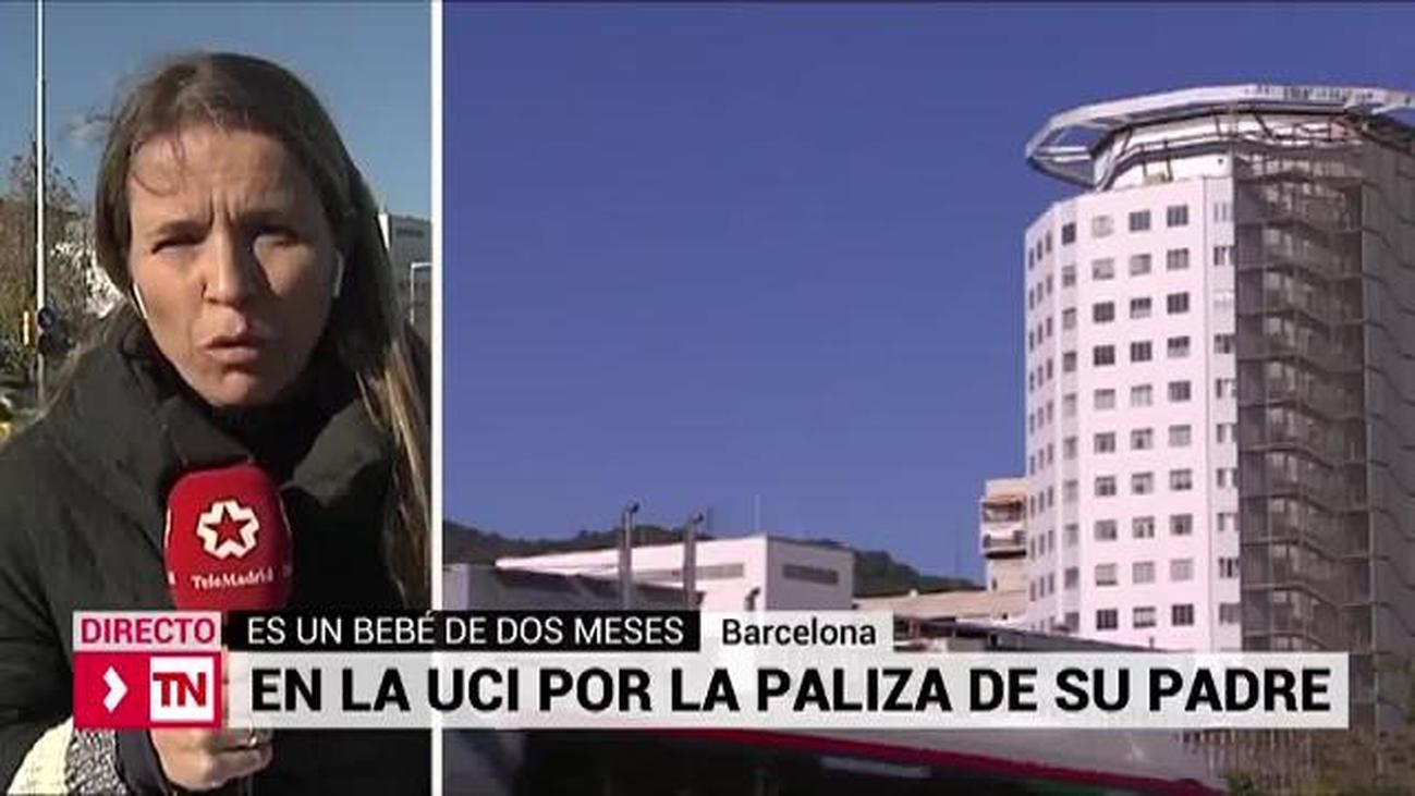 Ingresado un bebé en un hospital de Barcelona por una paliza de su padre