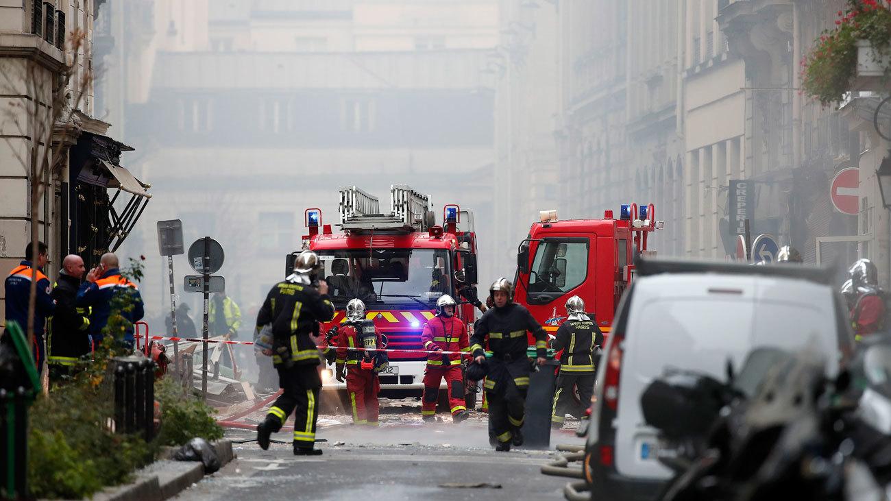 Una veintena de heridos tras una explosión en una panadería en el centro de París