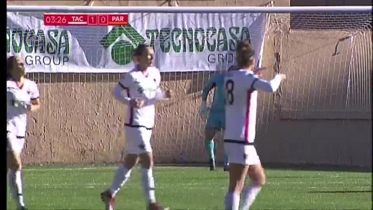 Gol de Badell del Tacón al Parquesol (1-0)