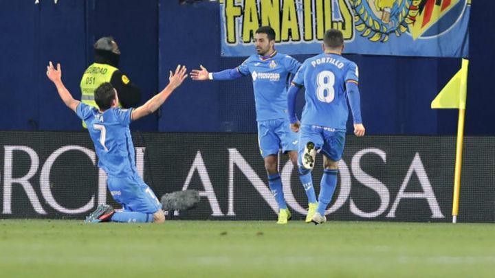 Gol de Ángel al Villarreal (1-2)