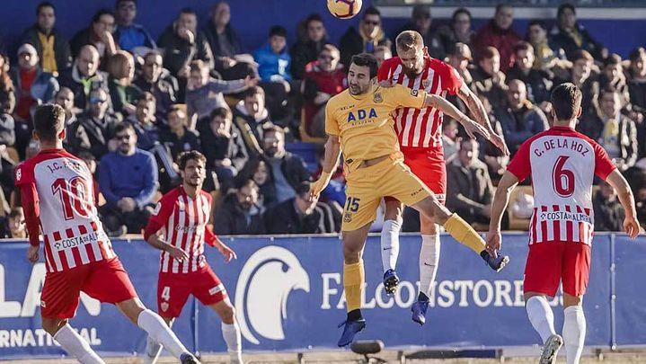 0-0. Reparto de puntos entre Alcorcón y Almería