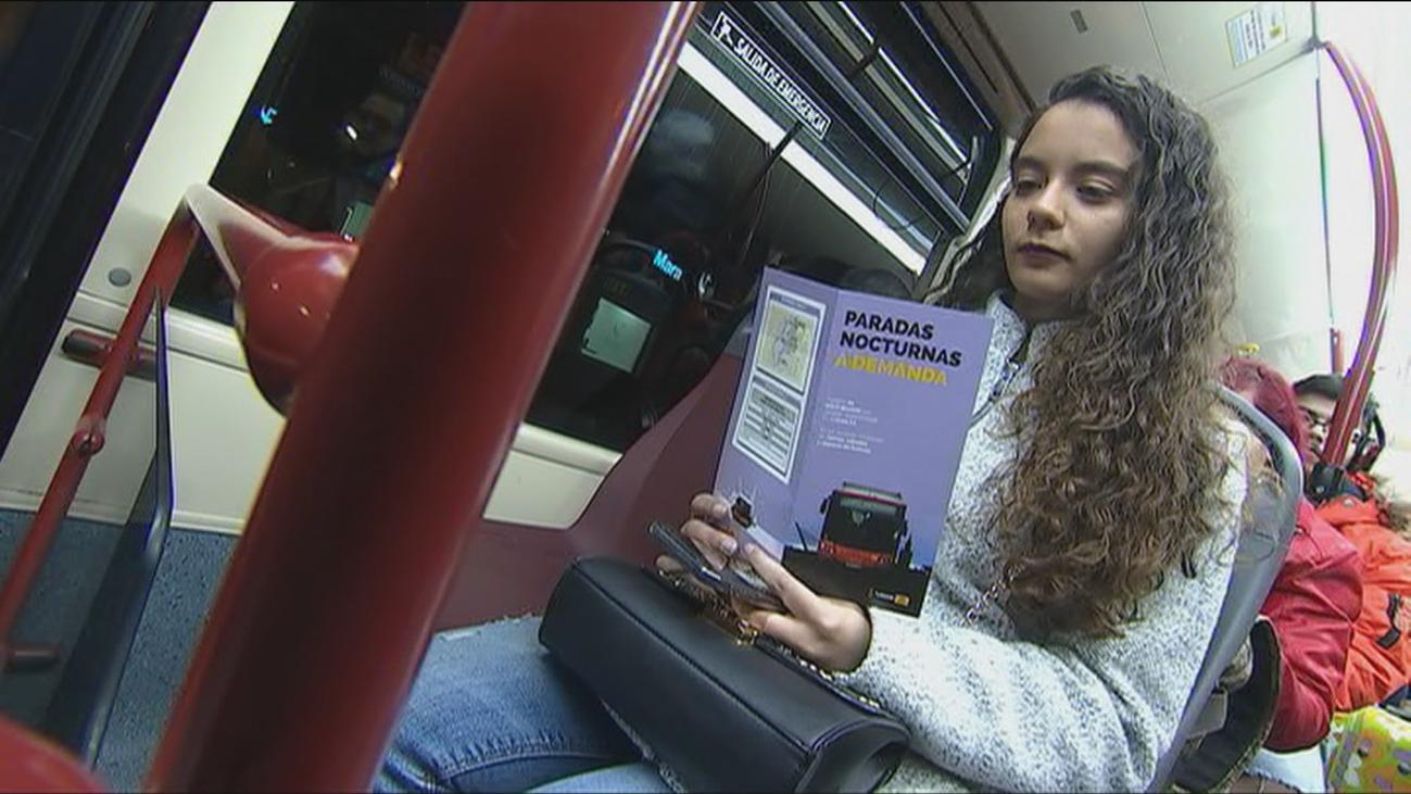 Los autobuses 'antiacoso' ya funcionan en algunos puntos de España