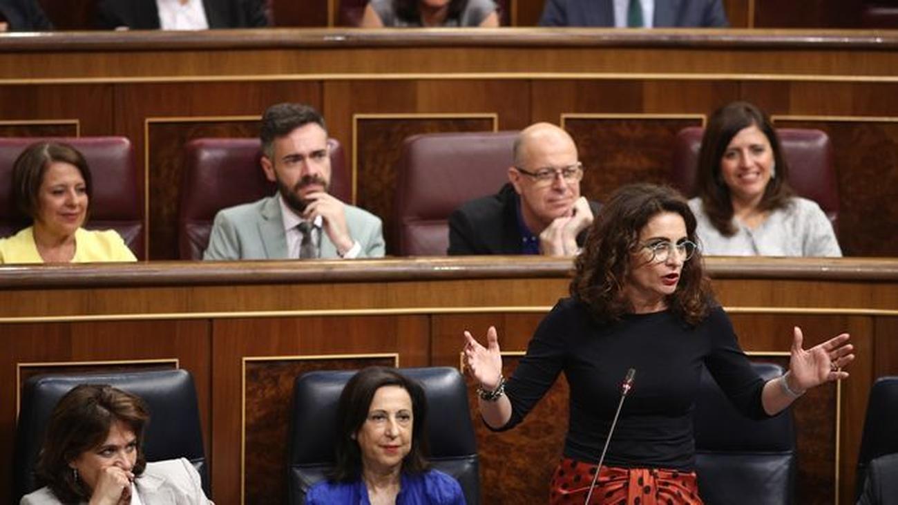 Este lunes llegan al Congreso los Presupuestos, claves para mantener a Sánchez