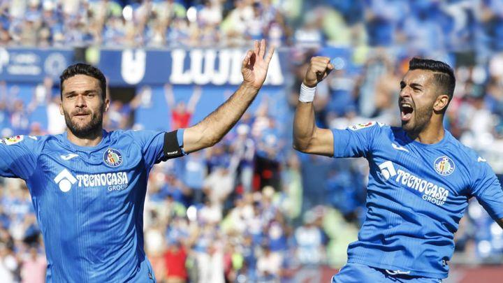 1-2.  Molina y Ángel dan la victoria al Getafe