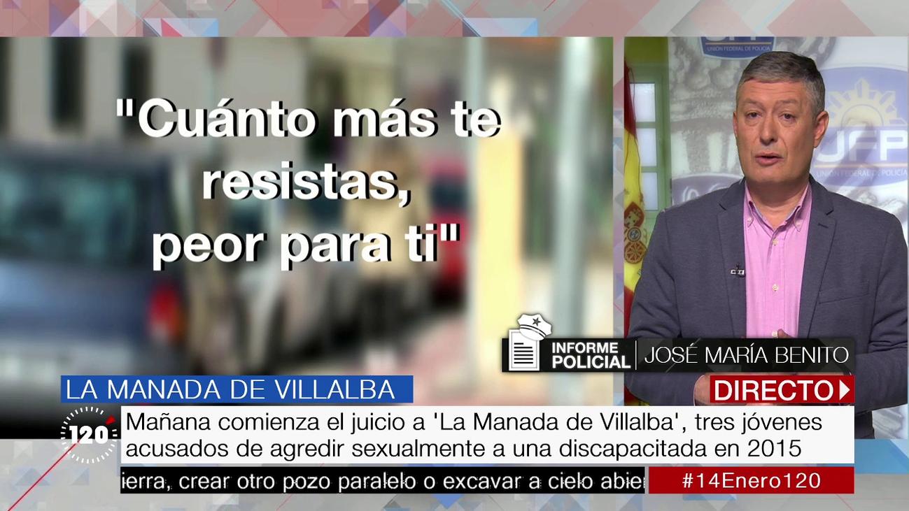 """José María Benito, sobre 'La Manada de Villalba': """"Hablamos de una agresión sexual consumada y continuada"""""""