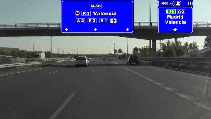 Baja el peaje de las autopistas radiales de Madrid y ya es gratis por las noches