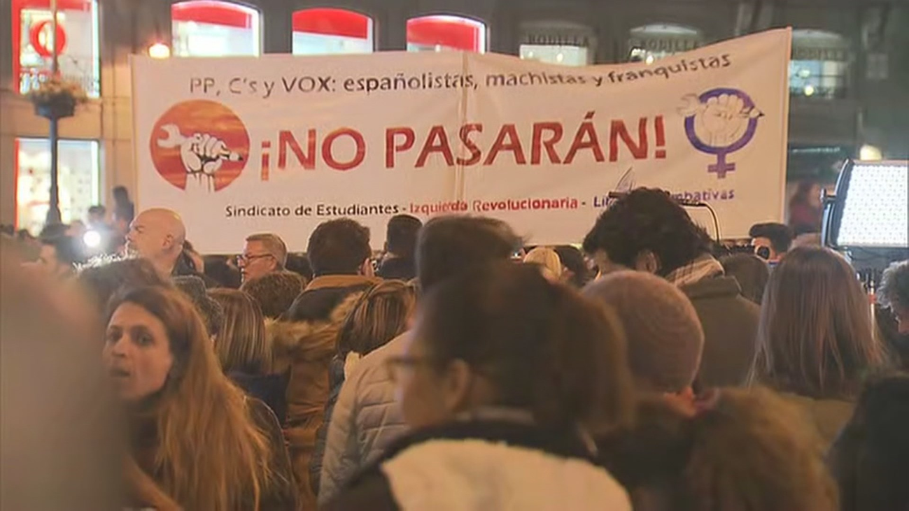 Miles de personas piden en Madrid que los derechos de las mujeres no se negocien