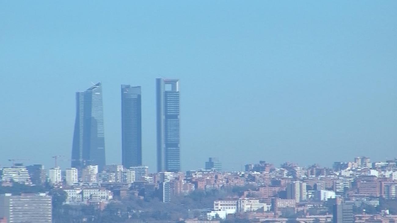 Plaza Elíptica, el punto negro de la contaminación en Madrid
