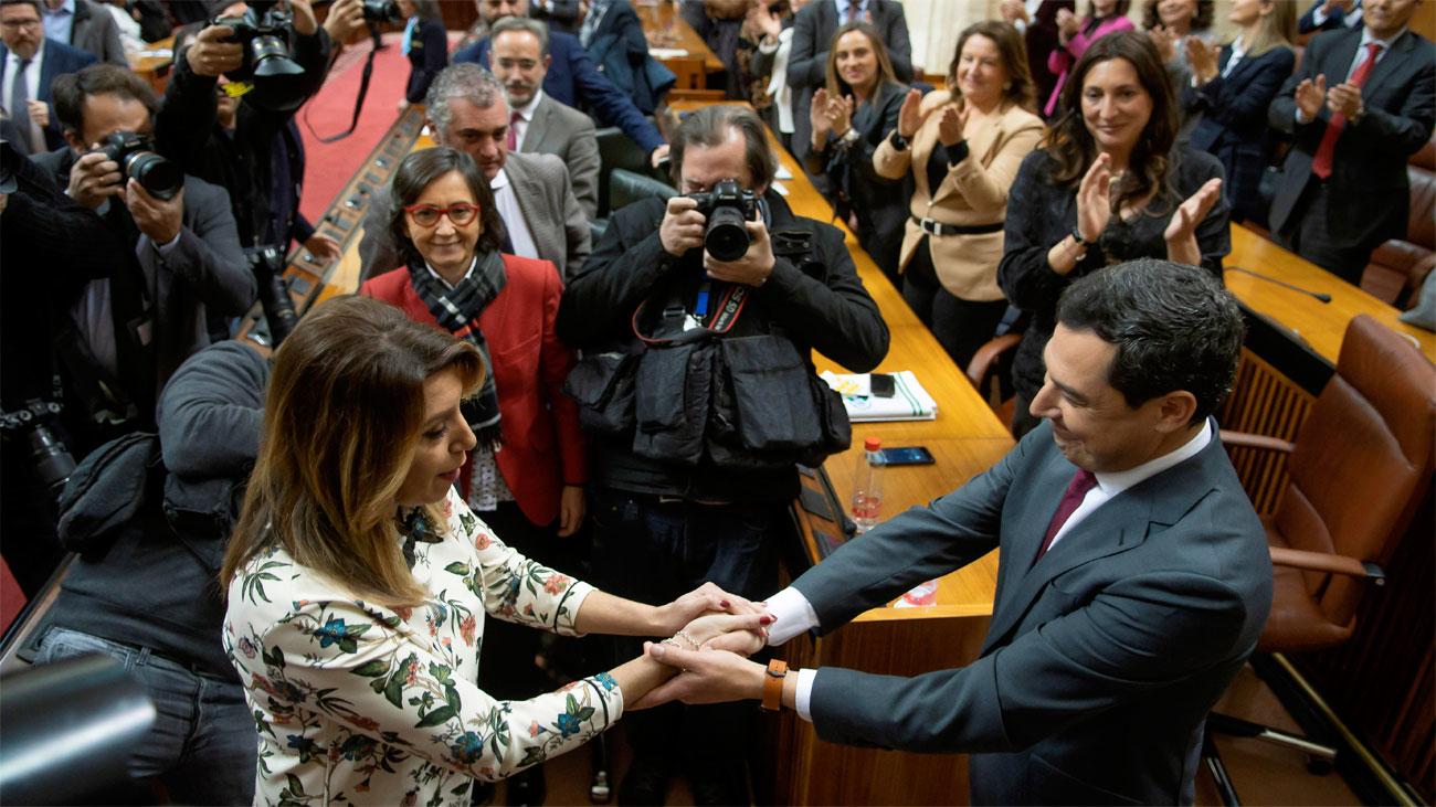 """Moreno invita a participar en la etapa """"apasionante"""" que se abre en Andalucía"""