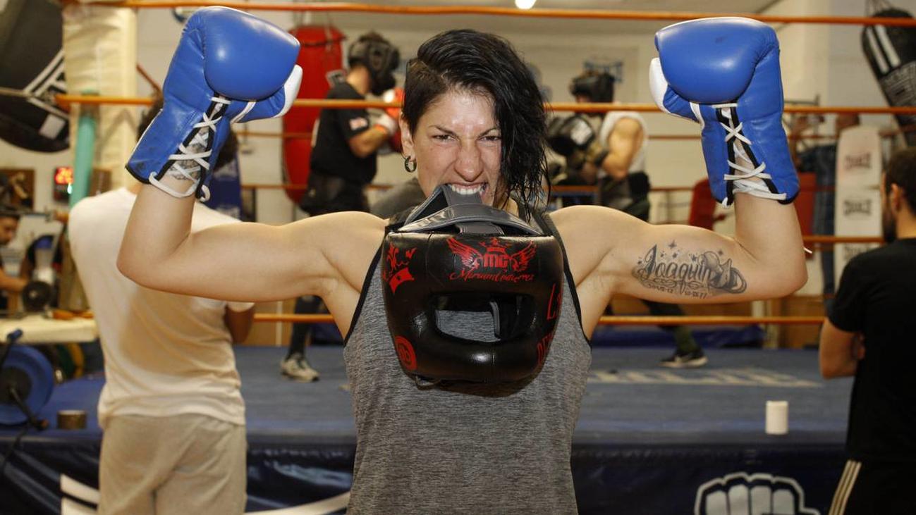 Miriam 'La Reina' Gutiérrez, boxeadora profesional