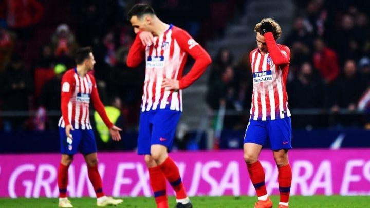 3-3. El Atlético dice adiós a la Copa