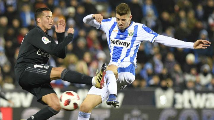 1-0. El Real Madrid, a cuartos pese a perder en Leganés