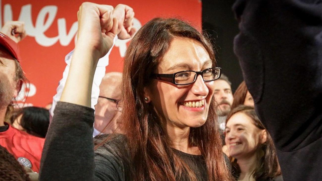 Sol Sánchez, diputada en el Congreso y portavoz de Izquierda Unida en Madrid
