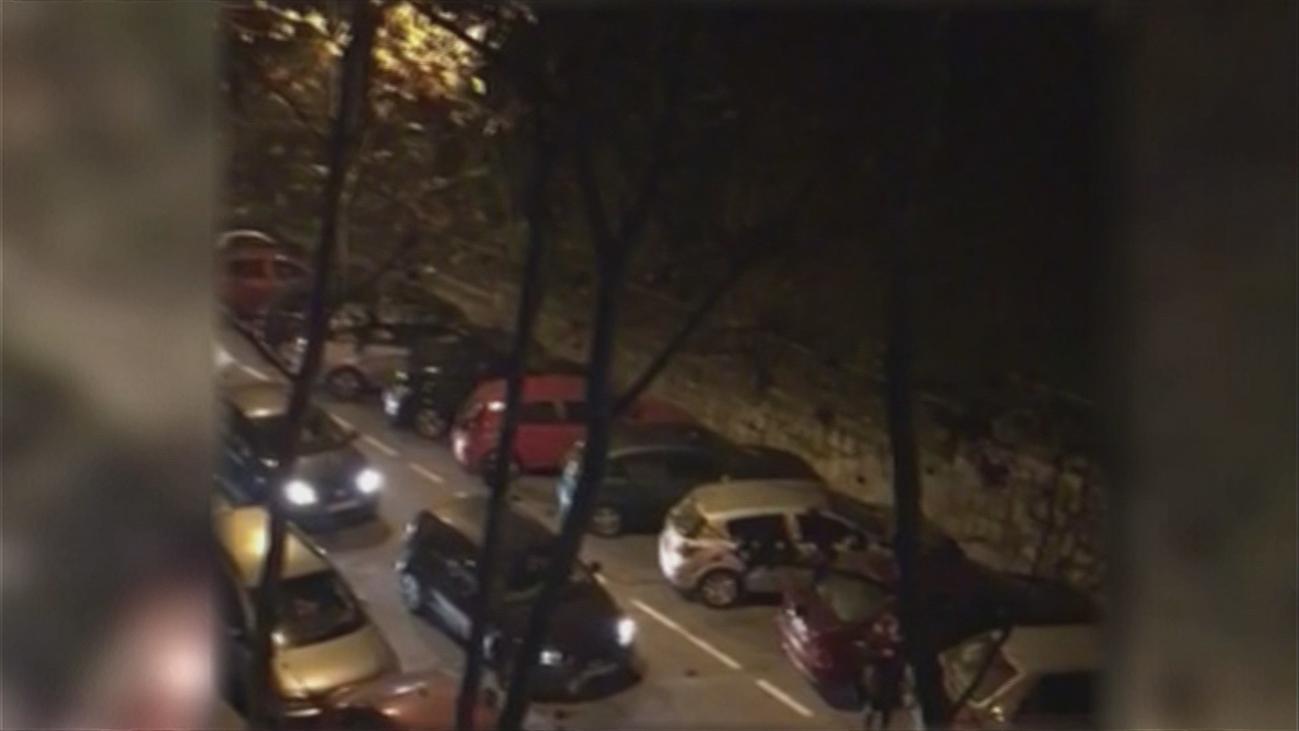 200 multas en una sola noche en una calle de Carabanchel