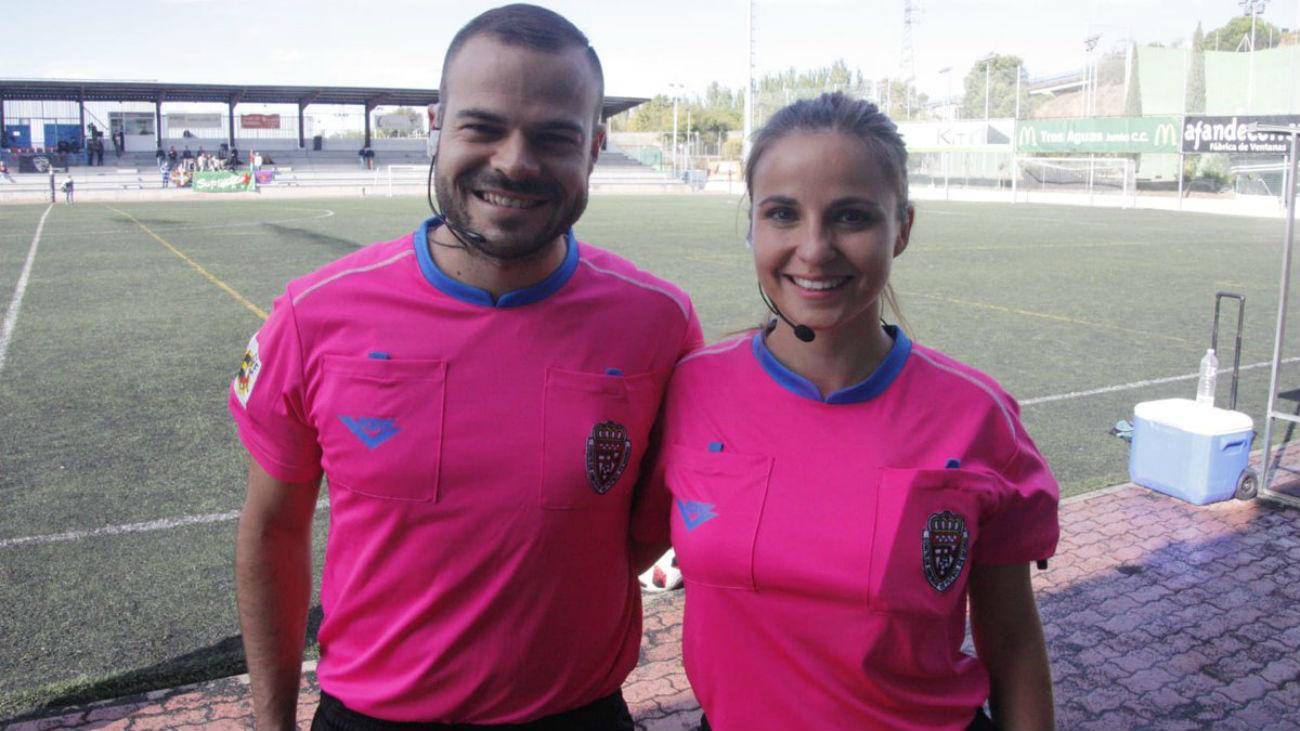Daniela y Sergio comparten vida y arbitraje