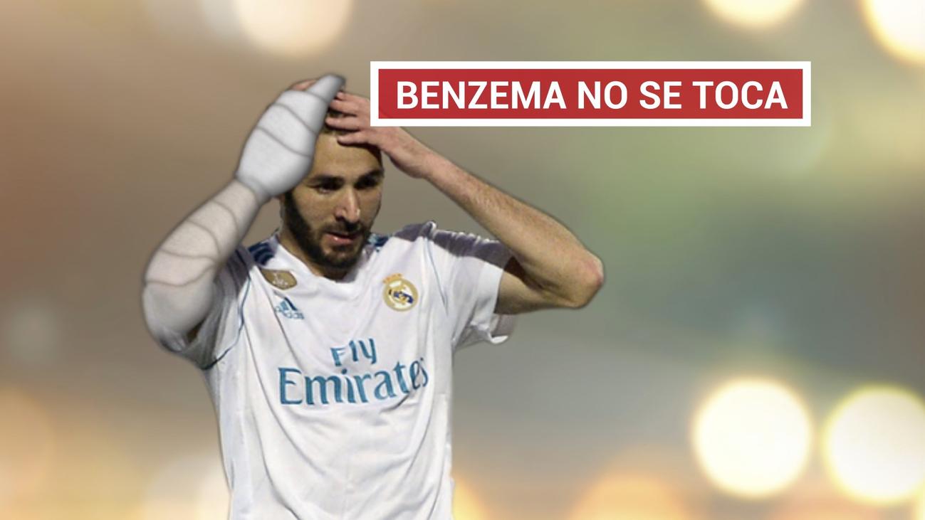 Solari cuenta con Benzema y descarta su operación