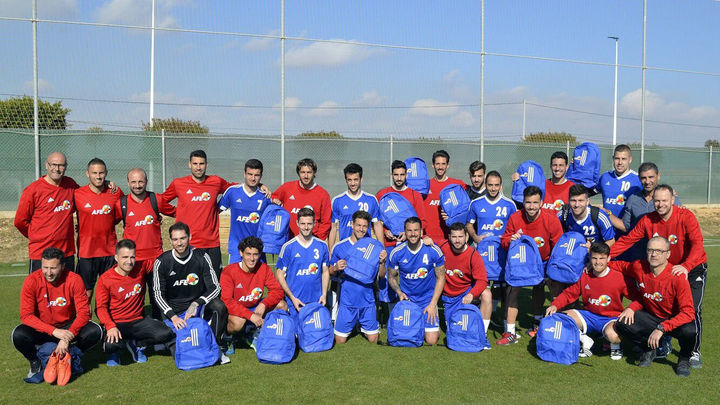 Sesiones AFE para futbolistas en paro