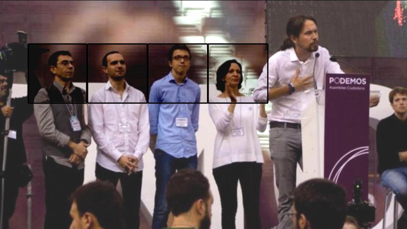 El cambio de Podemos, cinco años después de Vistalegre