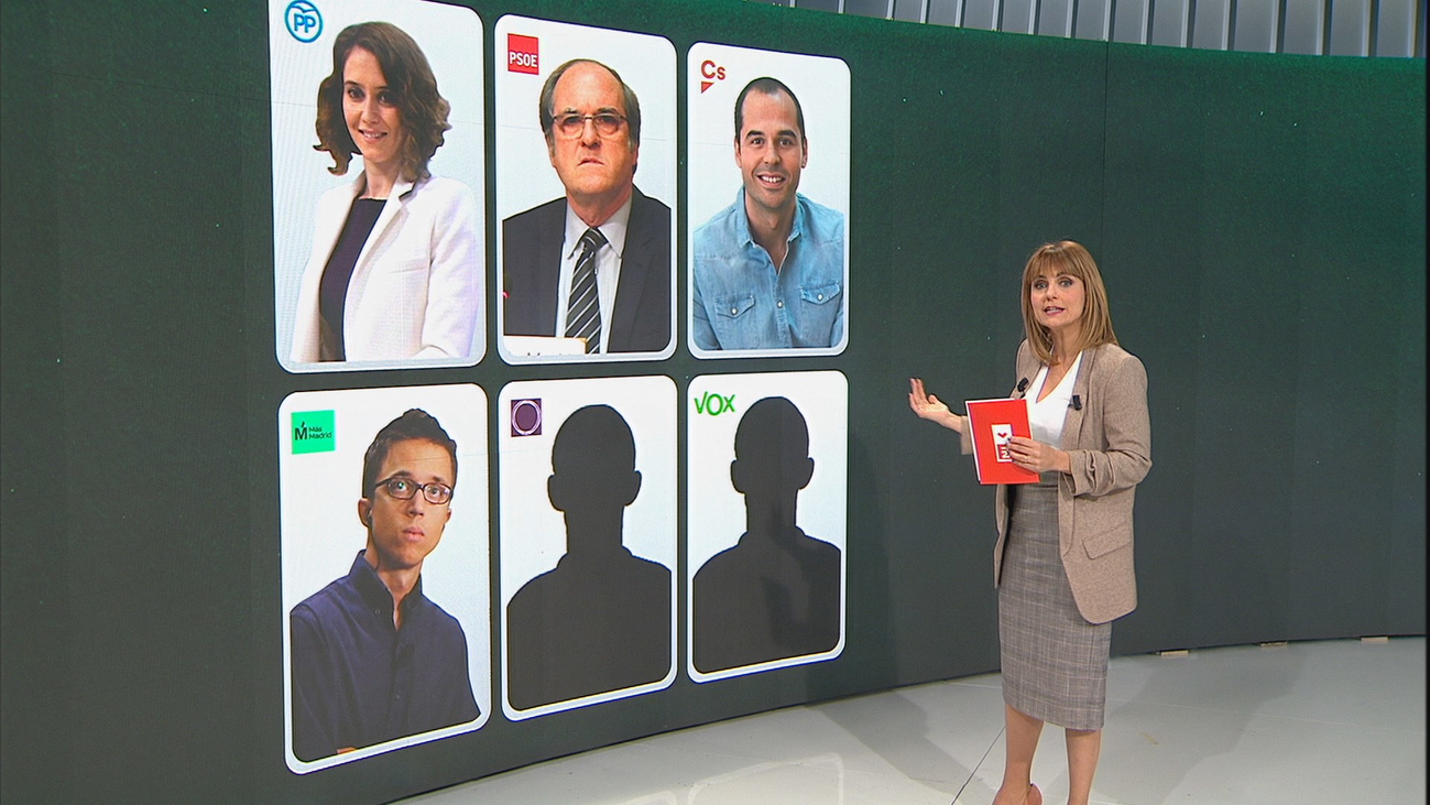 Hasta 6 candidaturas con opciones de obtener representación competirán en las autonómicas de Madrid