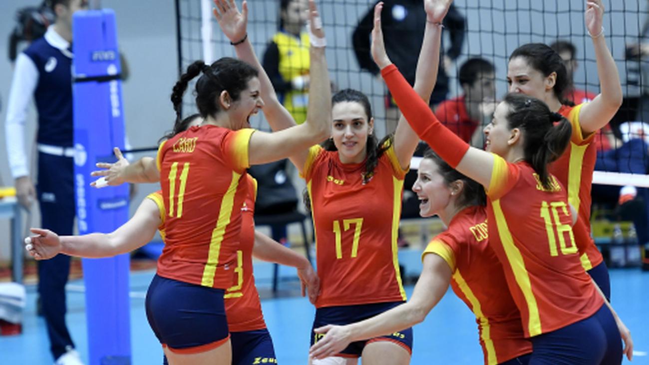 La selección española femenina jugará el Europeo
