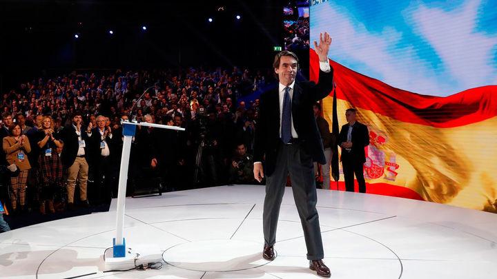 """Aznar insta al PP a """"integrar"""" y """"abrir puertas"""" para sumar una gran mayoría"""