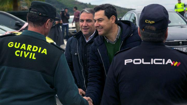 """Juanma Moreno: """"Se está haciendo todo lo humanamente posible por Julen"""""""
