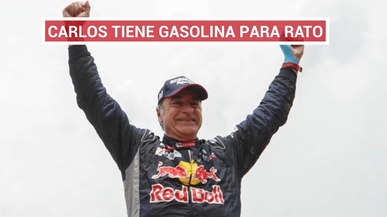 Carlos Sainz termina su Dakar más problemático