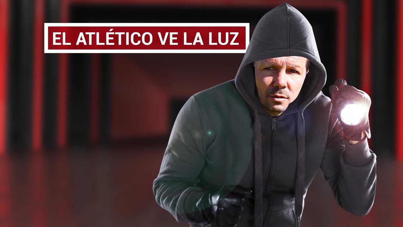 """Simeone: """"El equipo genera ilusión, entusiasmo y tranquilidad"""""""