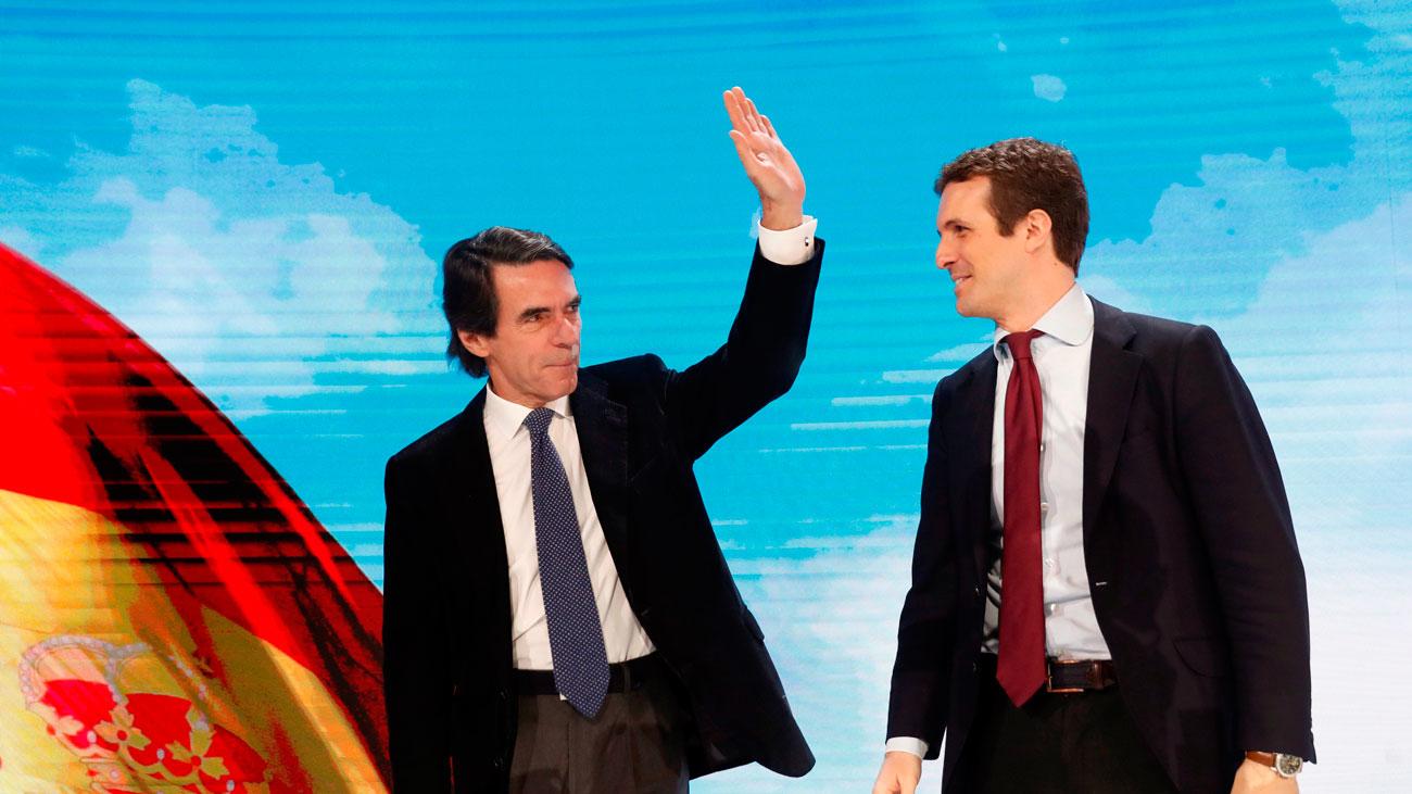 "Aznar vuelve a pedir el voto para la ""casa común"" que representa el PP"