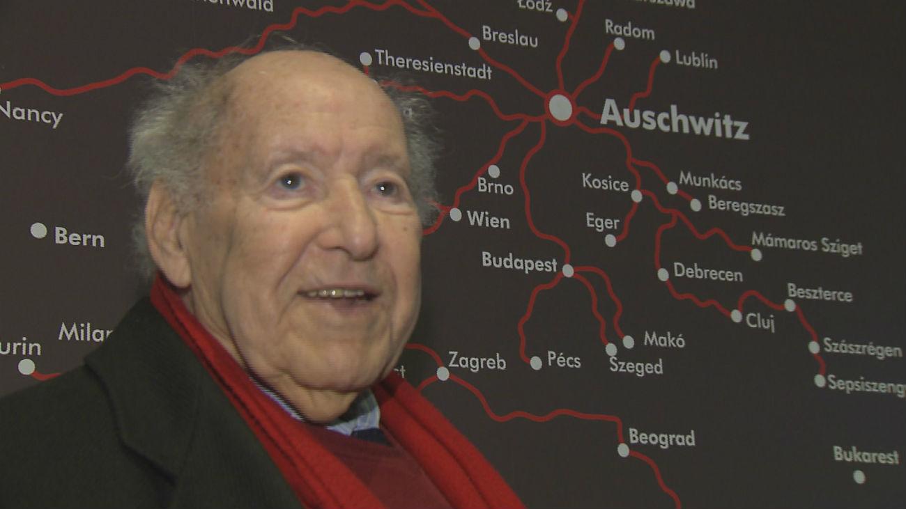 Salomon, testimonio vivo del Holocausto