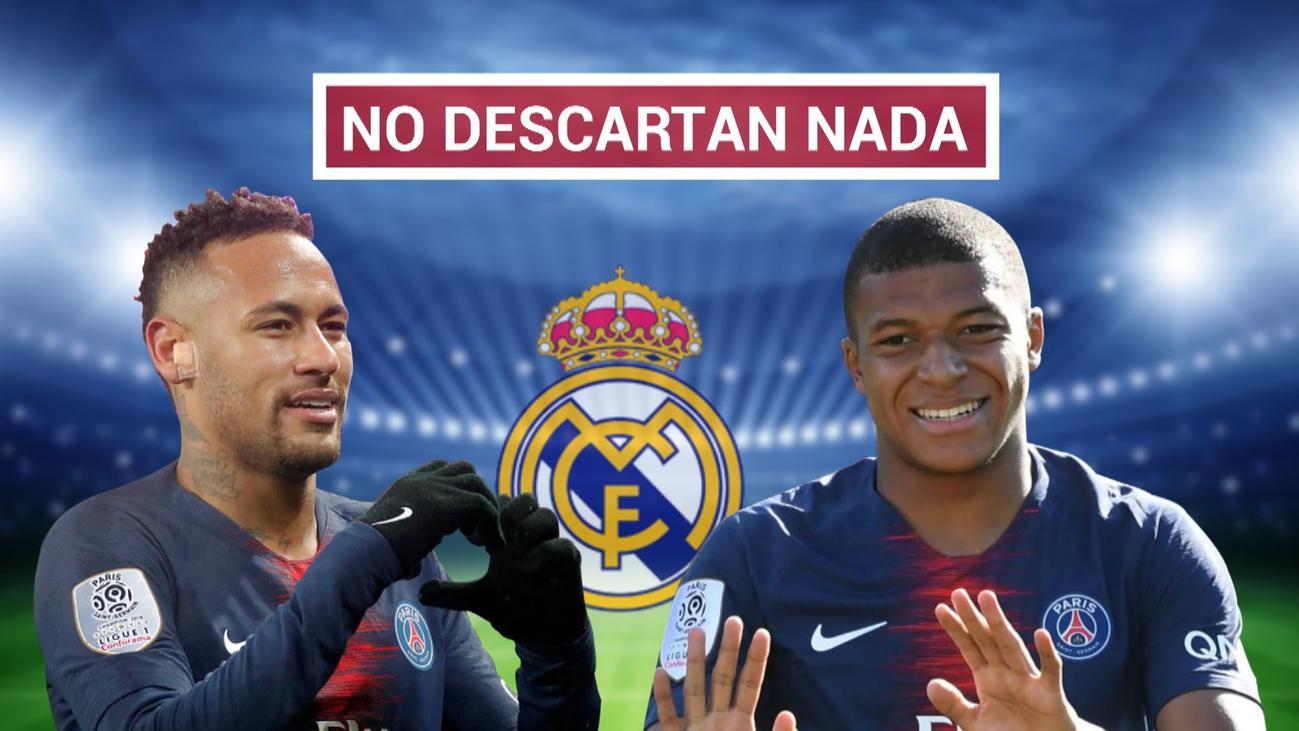 El Real Madrid prepara la ofensiva por Neymar y Mbappe