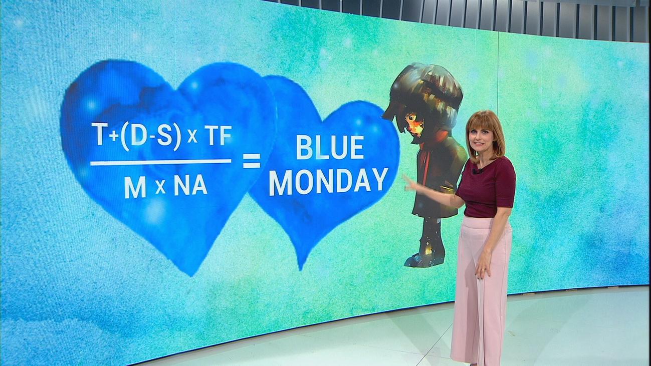 La fórmula del Blue Monday, día más triste del año, ¿mito o verdad?