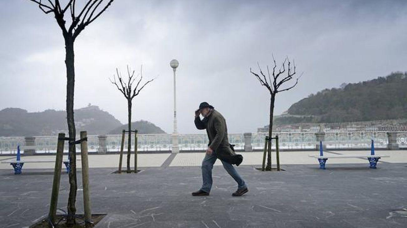 Aviso por alerta naranja por fuertes vientos: Hasta 70km/h en Madrid