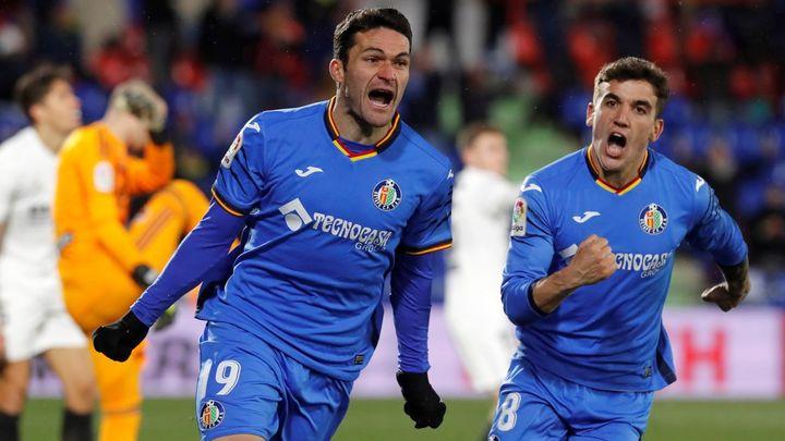 1-0. Jorge Molina hace soñar al Getafe