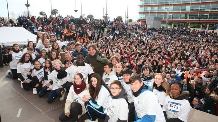 Marcha en Fuenlabrada contra el bullying