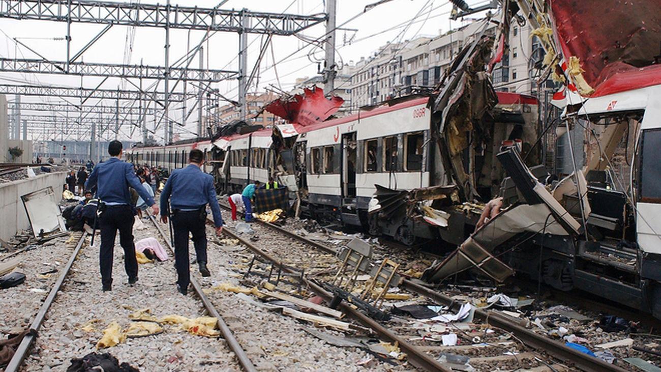 Imagen de archivo de los atentados del 11 de marzo de 2004 en Madrid.
