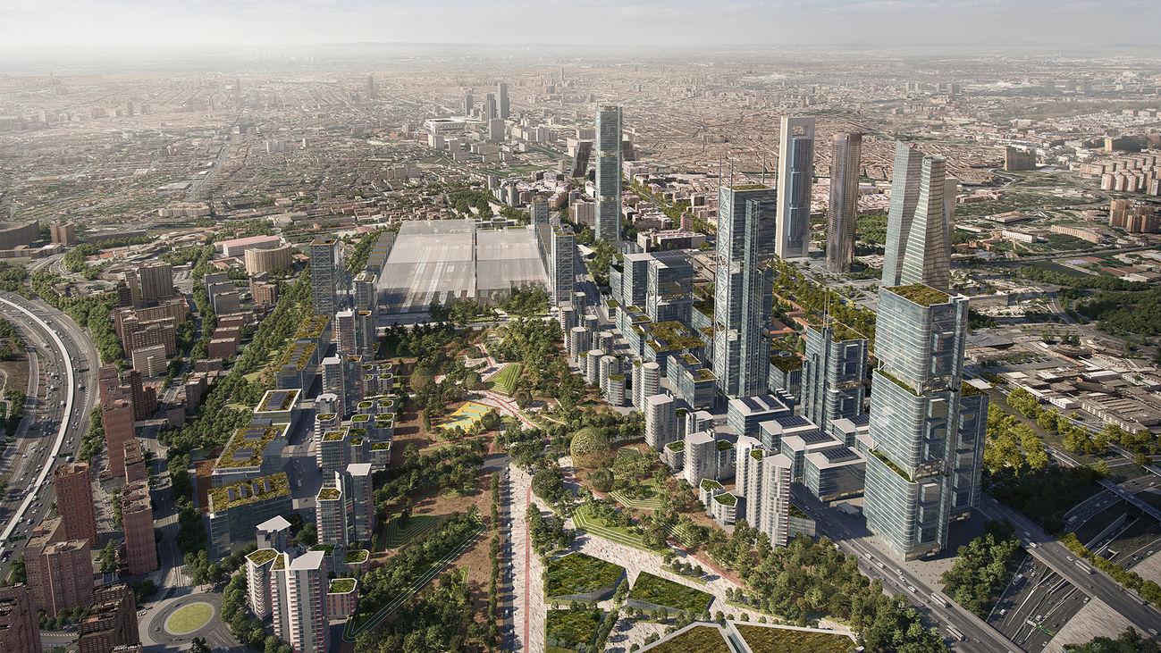 Madrid Nuevo Norte se ha convertido en el  proyecto urbanístico de Madrid más contestado desde el sector asociativo.
