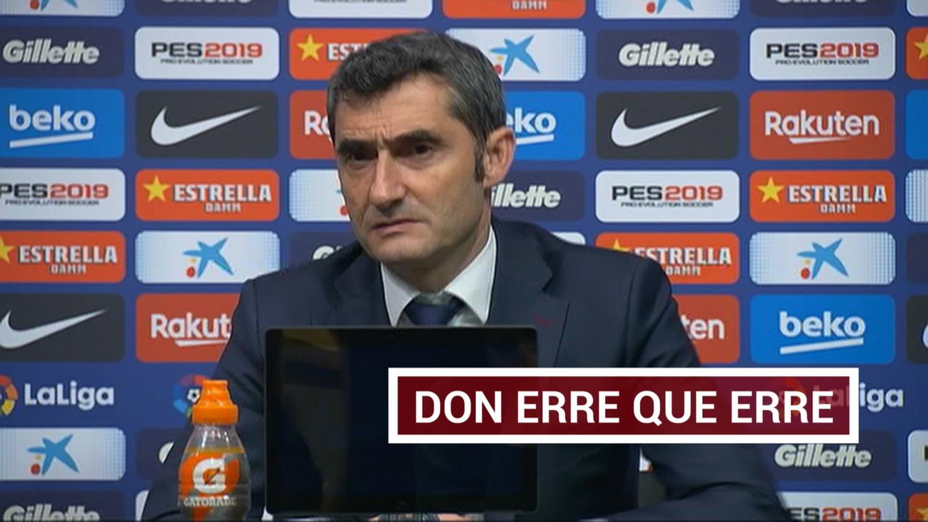 Valverde se ratifica en el polémico gol de Suárez