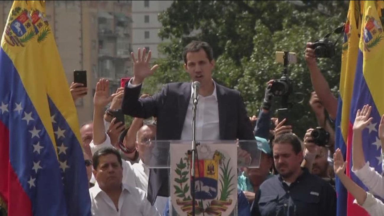 Trump reconoce a Guaidó como presidente 'interino' de Venezuela