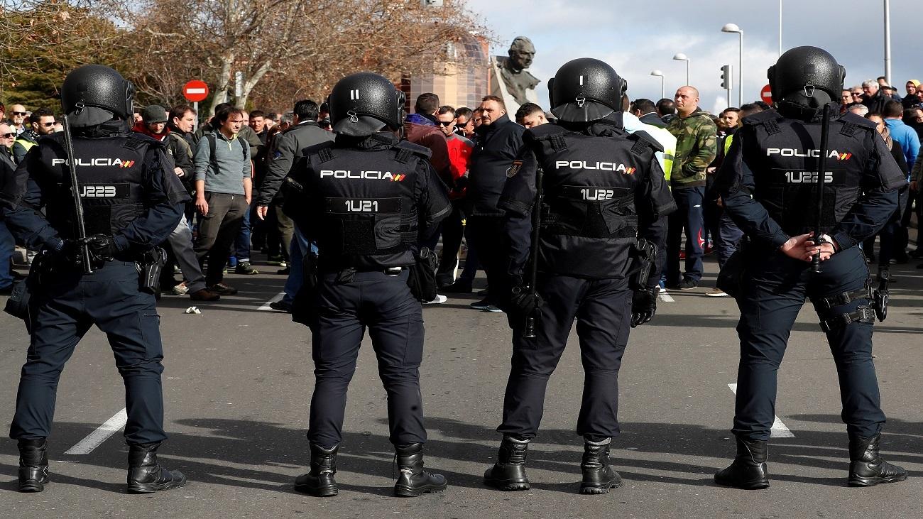 El cuarto día de huelga de los taxistas de Madrid, minuto a minuto