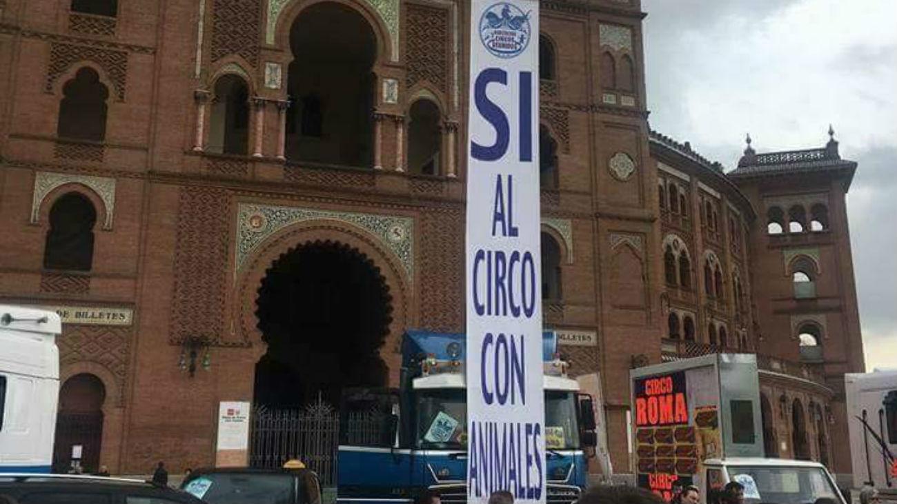 Circos Reunidos plantea una huelga de hambre en defensa del circo con animales
