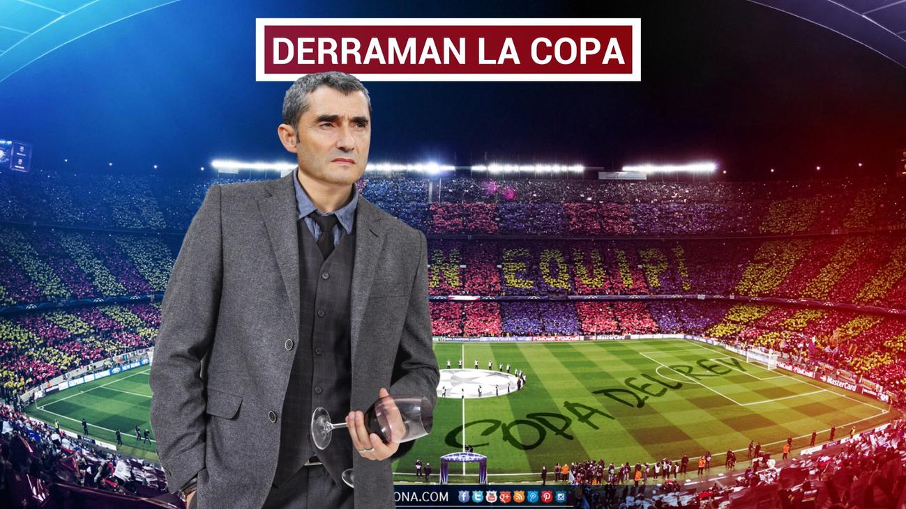 El Barça 'pasa' de la Copa