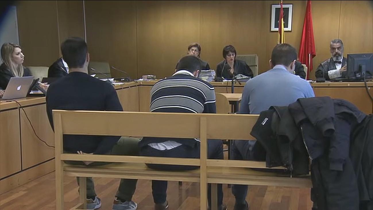 Queda visto para sentencia el juicio a 'la manada de Villalba'