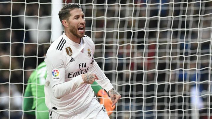 Gol de Sergio Ramos al Girona (3-2)