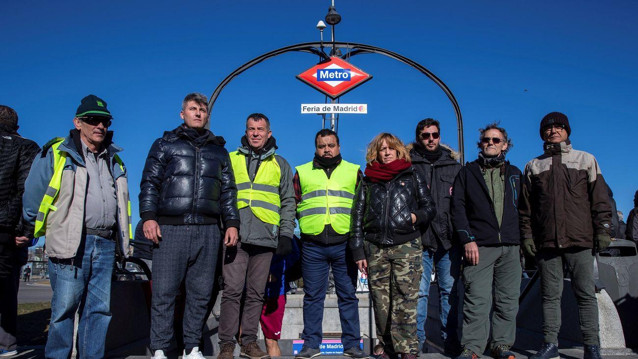 Minuto a minuto del quinto día de huelga de los taxistas de Madrid