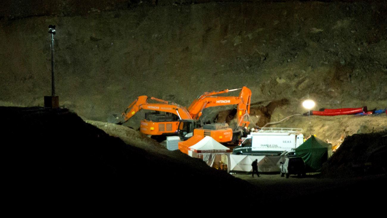 Avanza hasta los dos metros y medio la excavación de la galería horizontal
