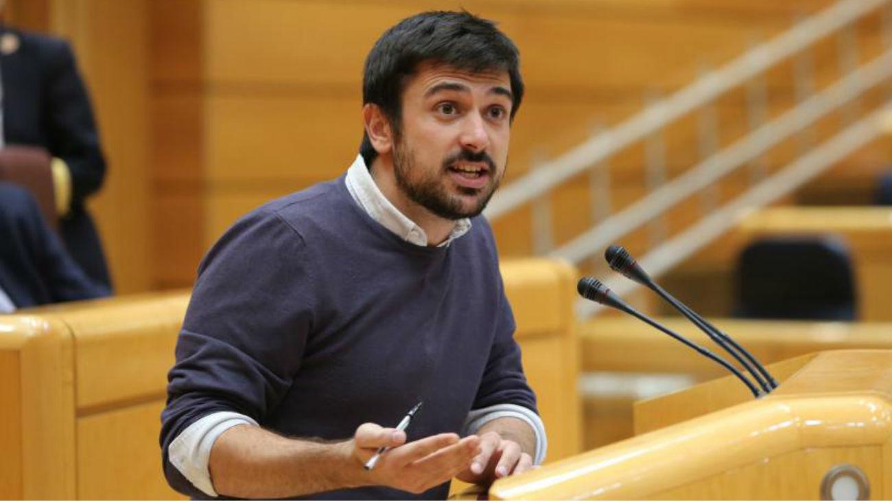 Sorpresa en la Asamblea de Madrid por la dimisión de Ramón Espinar